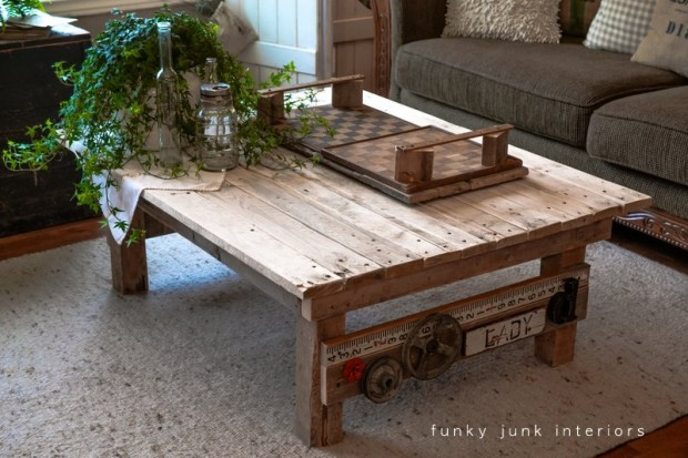 20 Great DIY Furniture Projects on a Budget 3 620x413 Restoration Hardware Coffee Table With Wheels Awesome Coffee Tables