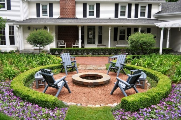 20 Great Fire Pit Ideas for Your Outdoor Area (19)