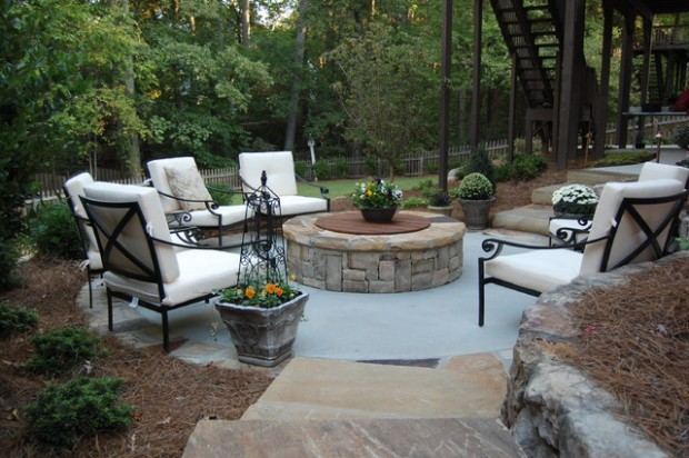 20 Great Fire Pit Ideas for Your Outdoor Area (20)