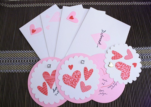 20 Lovely Last Minute DIY Valentine's Day Gift Card