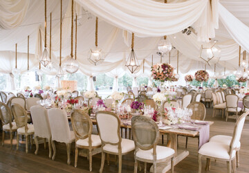 20 Romantic Flower Wedding Decoration Ideas - wedding inspiration, wedding flower, wedding decor, romantic wedding, flower decor