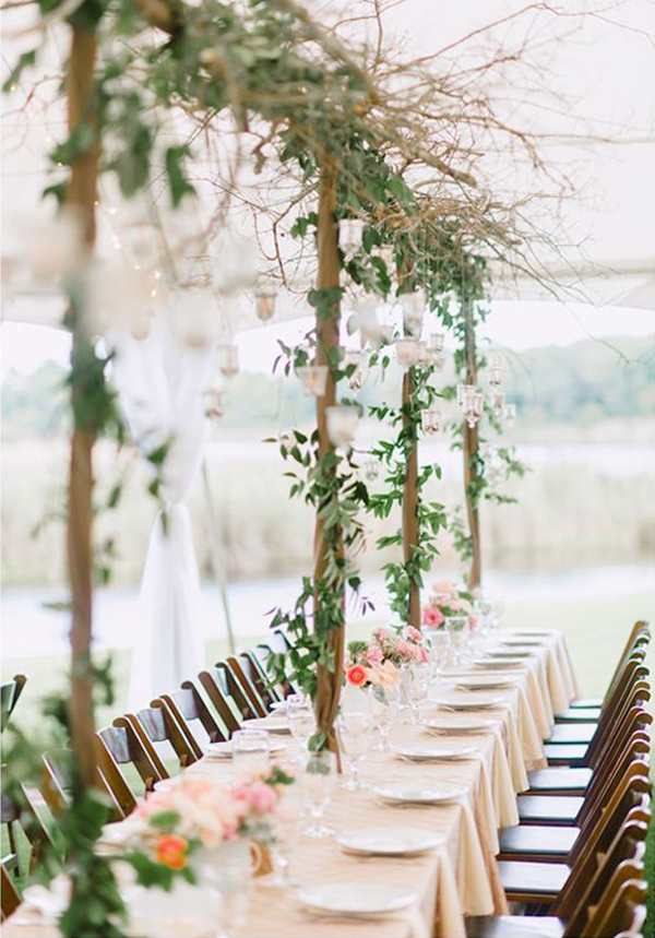 20 Romantic Flower Wedding Decoration Ideas (9)