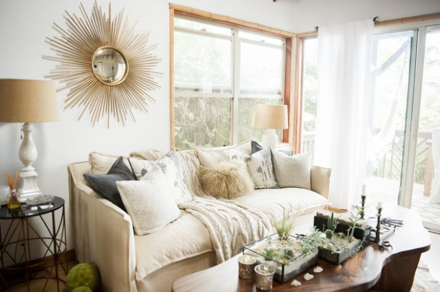 18 Stylish Boho Chic Living Room Design Ideas
