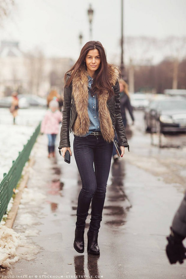 20 Stylish Outfit Ideas with Denim Shirt (1)