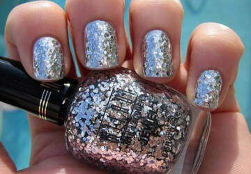 Top 18 Spectacular Glitter Nails With Sparkles - nails with sparkles, nails, Glitter nails