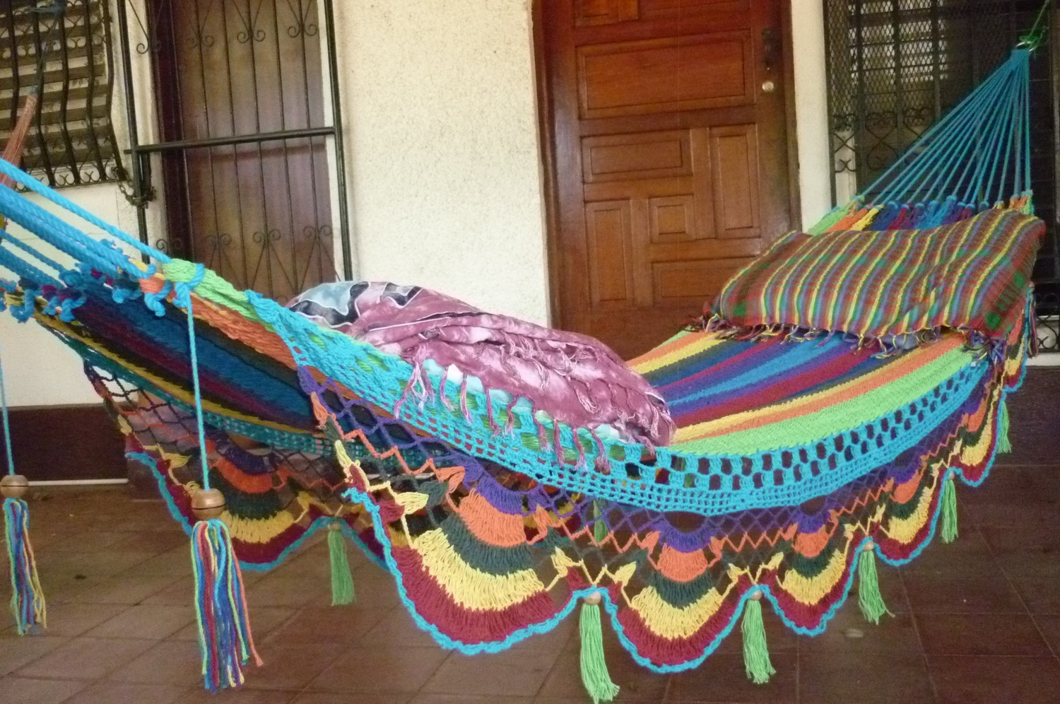 22 hammocks for a calm and relaxing spring style motivation - Hamacas dobles ...