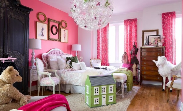 7 Inspiring Kid Room Color Options For Your Little Ones: 18 Amazing Pink Bedroom Design Ideas For Teenage Girls