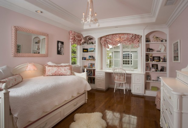 outstanding bedroom ideas girls room | 18 Amazing Pink Bedroom Design Ideas for Teenage Girls ...