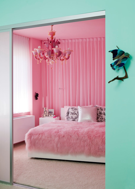 18 Amazing Pink Bedroom Design Ideas for Teenage Girls ...