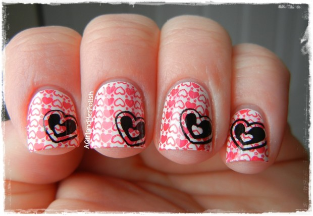 22 Sweet and Easy Valentine's Day Nail Art Ideas (15)