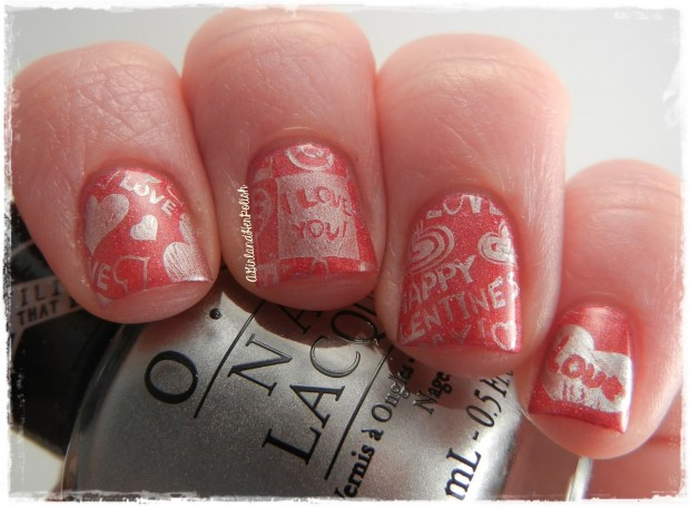 22 Sweet and Easy Valentine's Day Nail Art Ideas (16)