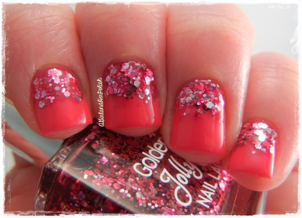 22 Sweet and Easy Valentine's Day Nail Art Ideas (17)