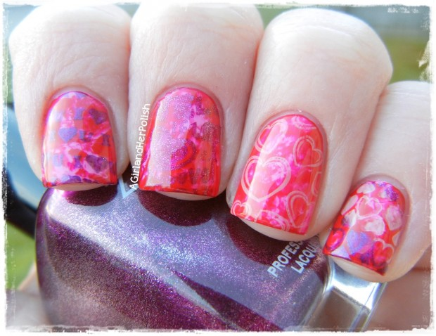 22 Sweet and Easy Valentine's Day Nail Art Ideas (18)