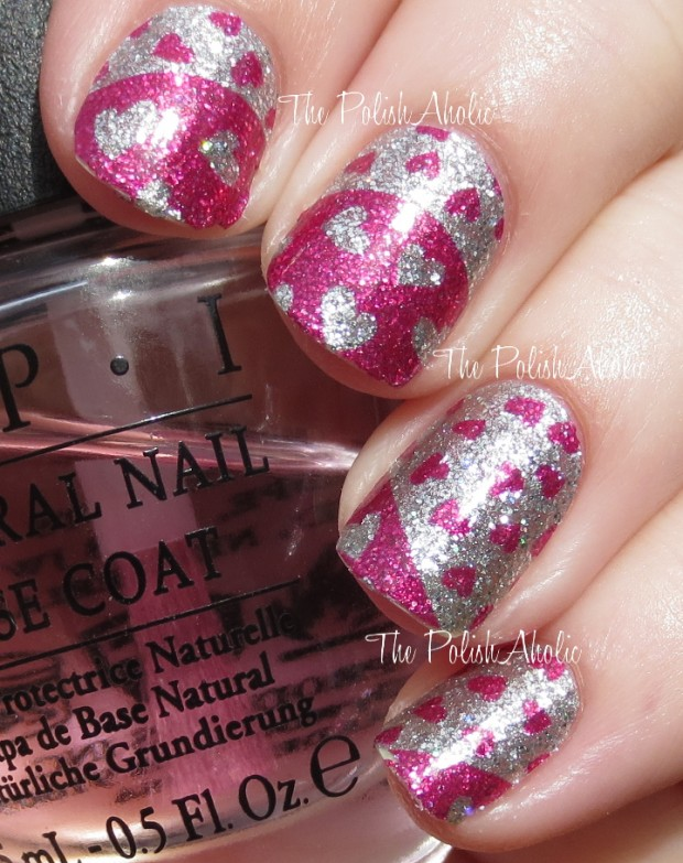 22 Sweet and Easy Valentine's Day Nail Art Ideas (20)