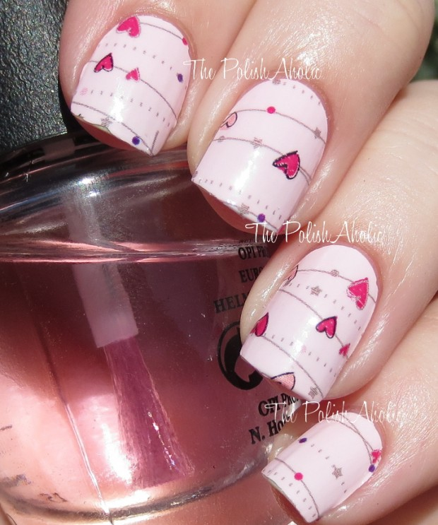 22 Sweet and Easy Valentine's Day Nail Art Ideas (21)