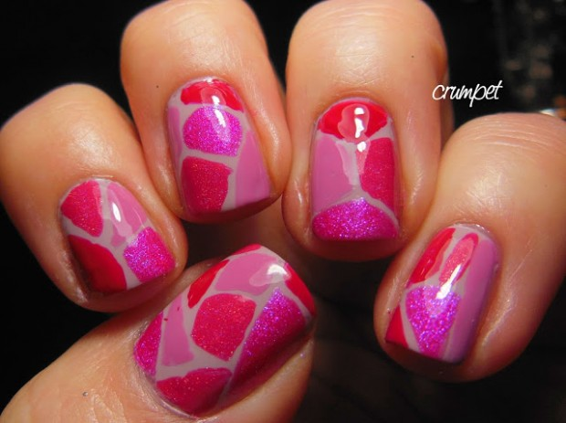 22 Sweet and Easy Valentine's Day Nail Art Ideas (5)
