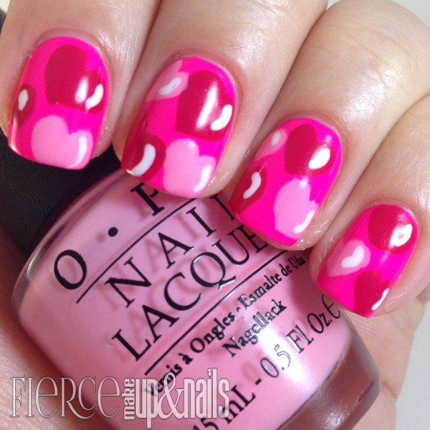 22 Sweet and Easy Valentine's Day Nail Art Ideas (6)