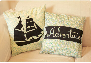 23 Decorative DIY Pillow Ideas for Your Home - diy pillows, diy pillow, diy home decor, diy