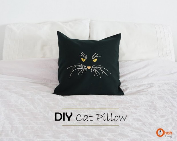 23 Decorative DIY Pillow Ideas for Your Home (8)