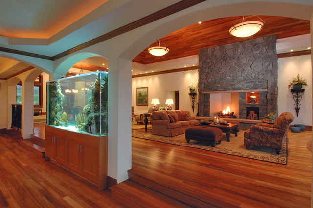 24 Original Ideas With Aquarium In Home Interior Style