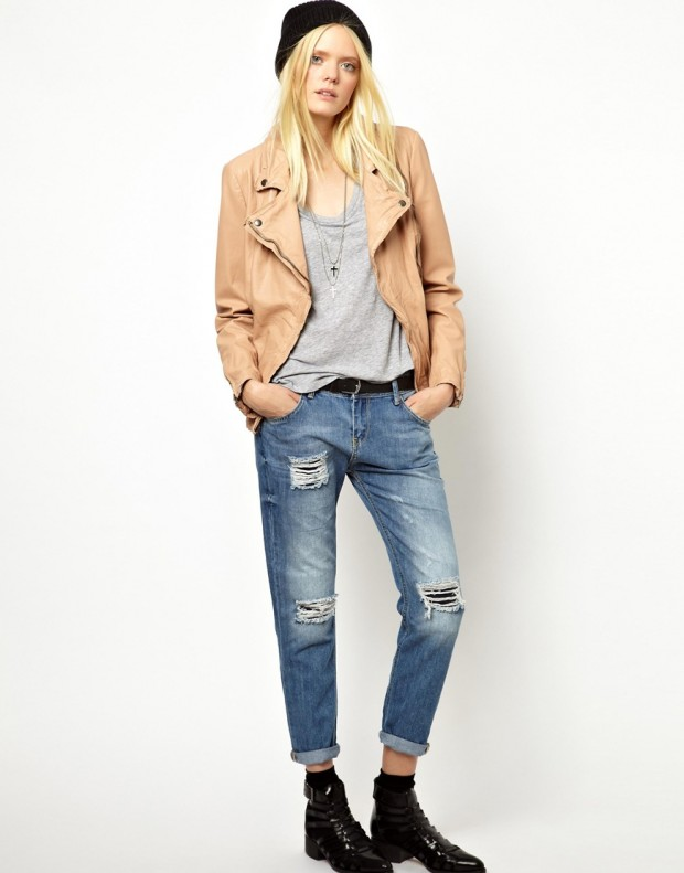 18 Leather Biker Jackets for Urban Chick Look