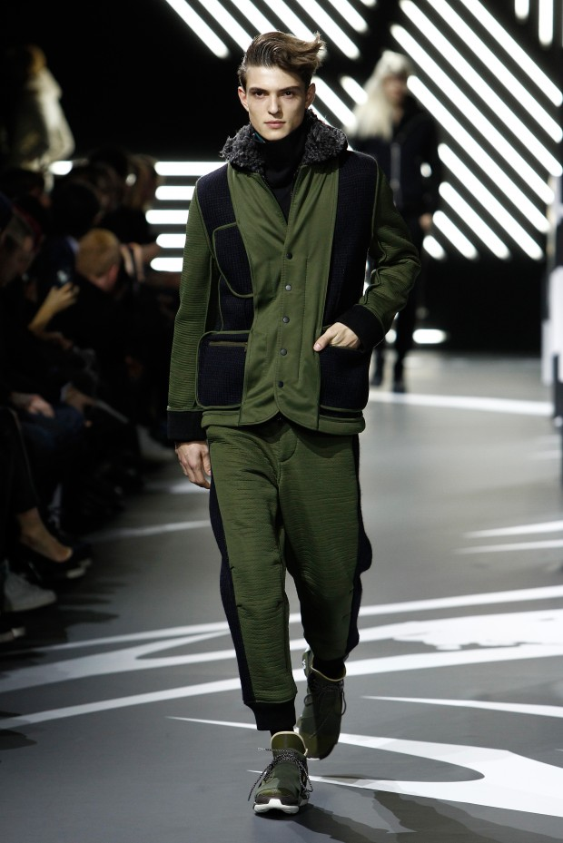 Y-3 : Runway - Paris Fashion Week - Menswear F/W 2014-2015