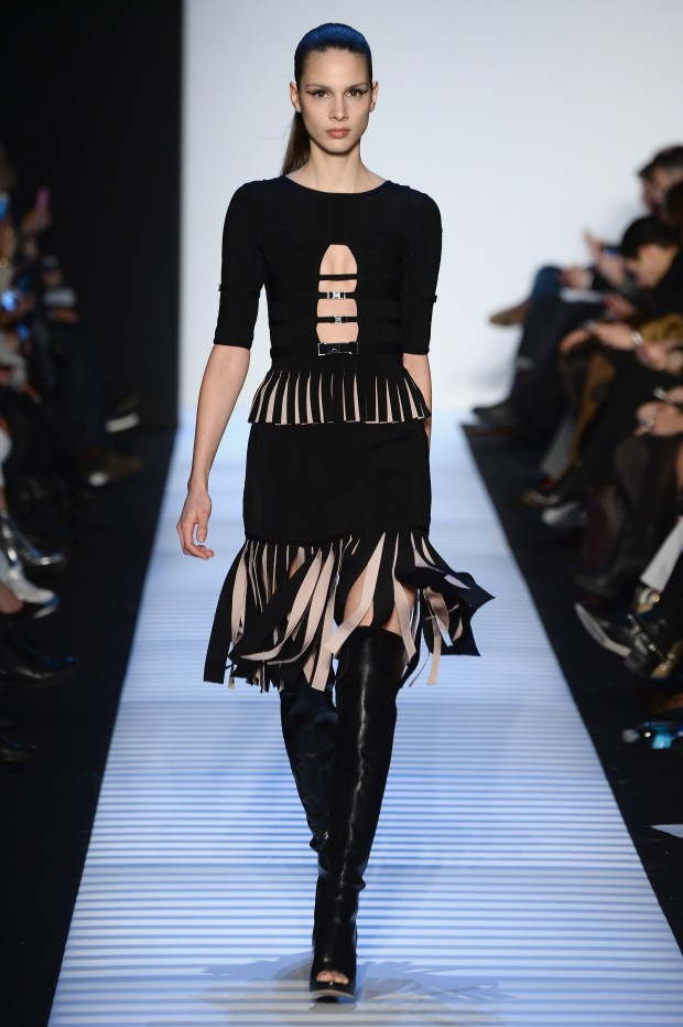 Herve Leger By Max Azria - Runway - Mercedes-Benz Fashion Week Fall 2014