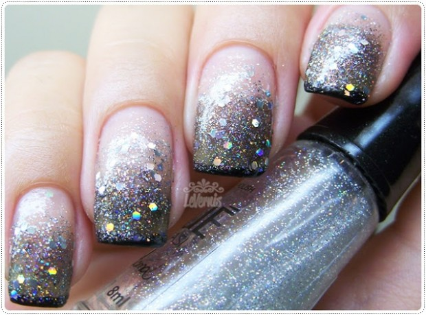 Top 18 Spectacular Glitter Nails With Sparkles