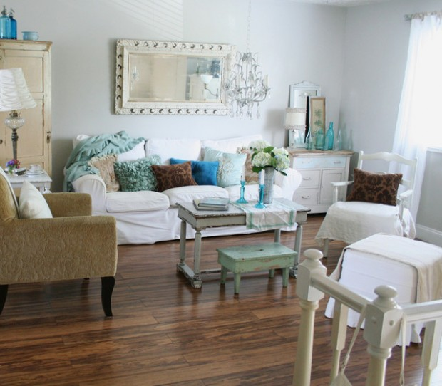22 Dreamy Shabby Chic Interior Decor Ideas Style Motivation