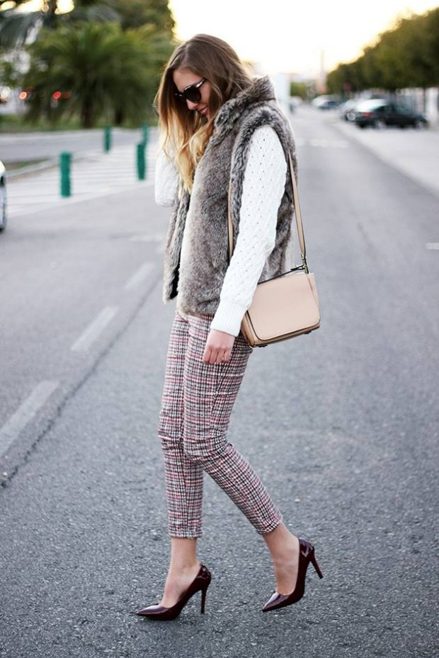 Dressing for Cold Weather 20 Stylish and Warm Outfit Ideas (10)