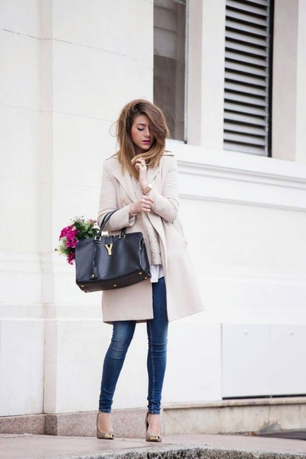 Dressing for Cold Weather 20 Stylish and Warm Outfit Ideas (11)