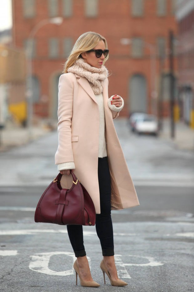 Dressing for Cold Weather 20 Stylish and Warm Outfit Ideas (12)
