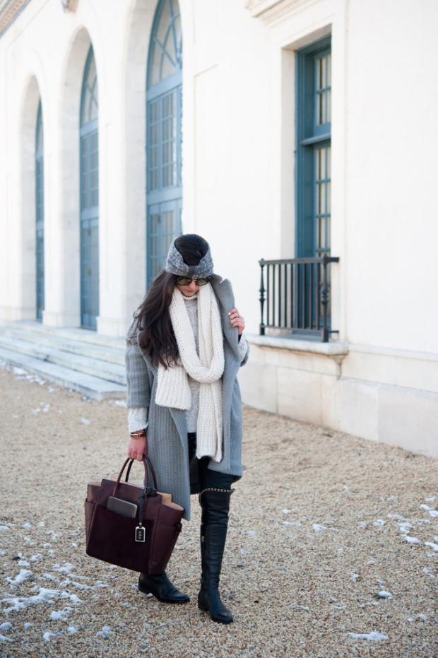 Dressing for Cold Weather 20 Stylish and Warm Outfit Ideas (13)