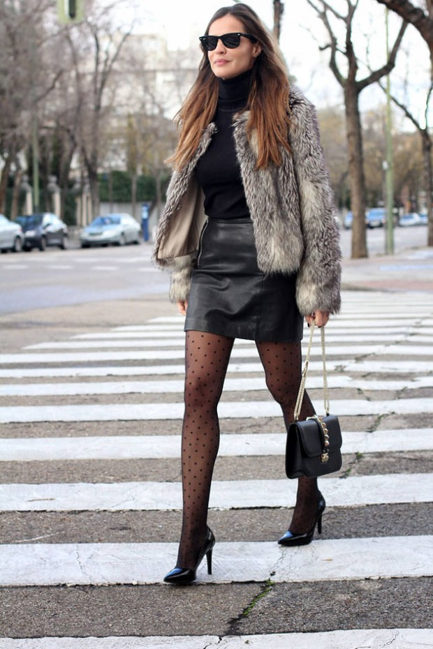 Dressing for Cold Weather 20 Stylish and Warm Outfit Ideas (14)