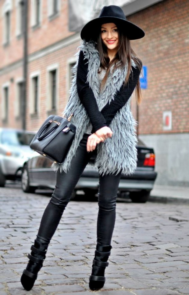 Dressing for Cold Weather 20 Stylish and Warm Outfit Ideas (15)