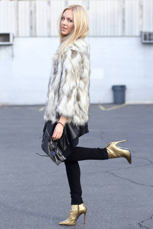Dressing for Cold Weather 20 Stylish and Warm Outfit Ideas (17)
