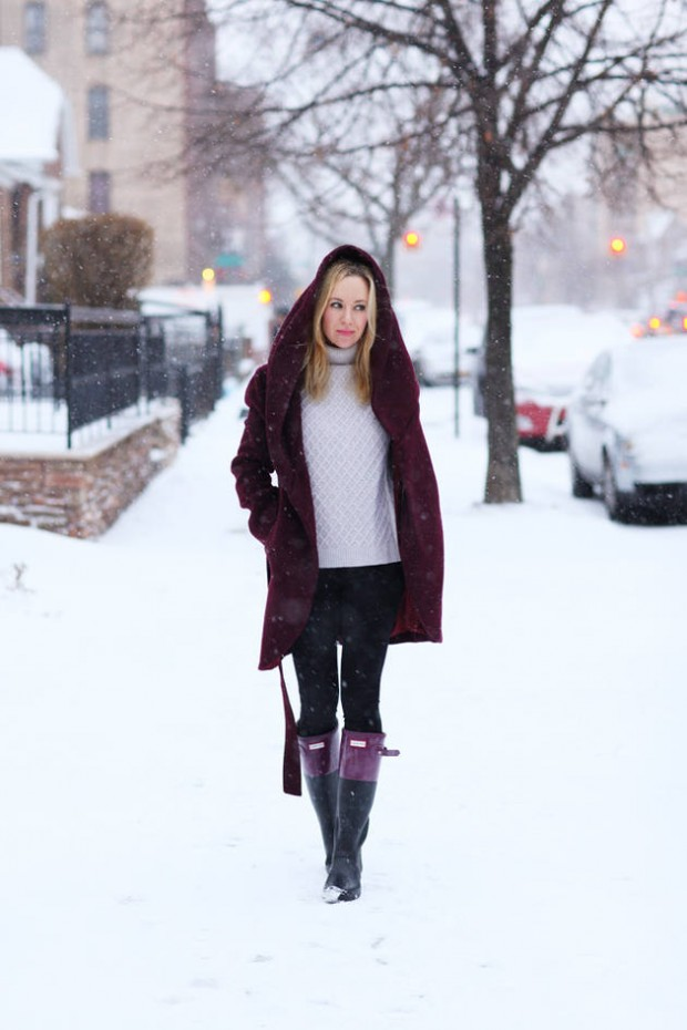 Dressing for Cold Weather 20 Stylish and Warm Outfit Ideas (18)
