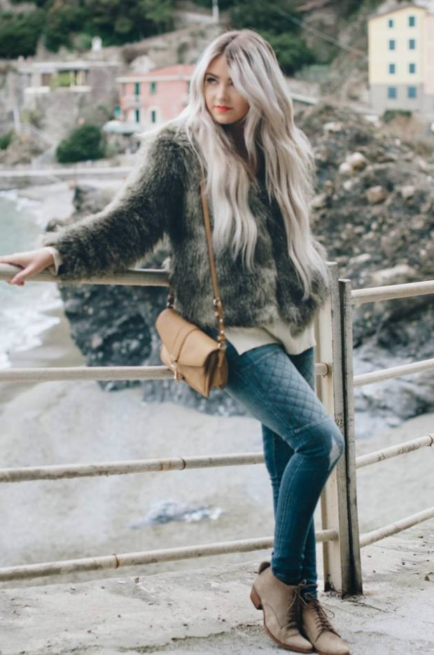 Dressing for Cold Weather 20 Stylish and Warm Outfit Ideas (2)