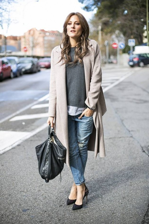 Dressing for Cold Weather 20 Stylish and Warm Outfit Ideas (3)