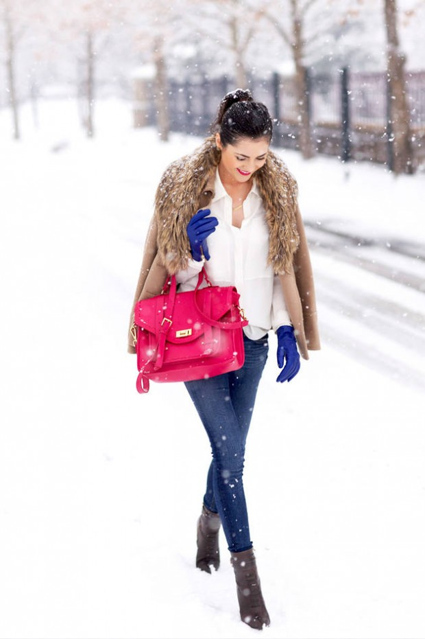 Dressing for Cold Weather 20 Stylish and Warm Outfit Ideas (4)