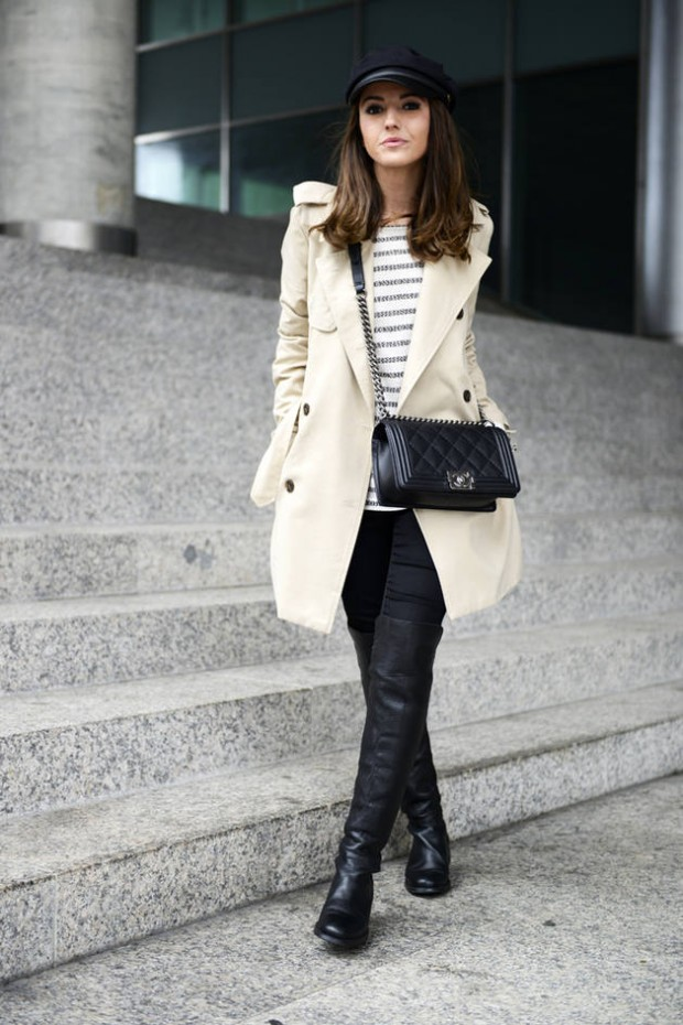 Dressing for Cold Weather 20 Stylish and Warm Outfit Ideas (5)