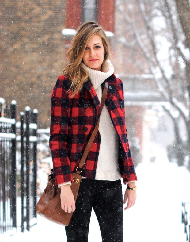 Dressing for Cold Weather 20 Stylish and Warm Outfit Ideas (6)