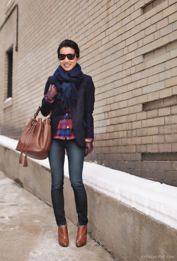 Dressing for Cold Weather 20 Stylish and Warm Outfit Ideas (7)
