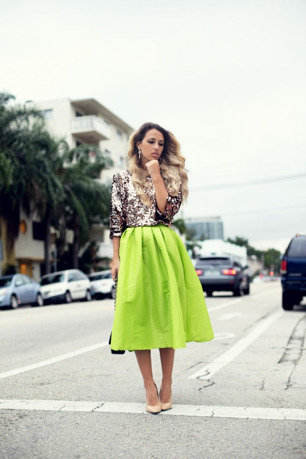 Hot Fashion Trend Midi Skirts Style Motivation