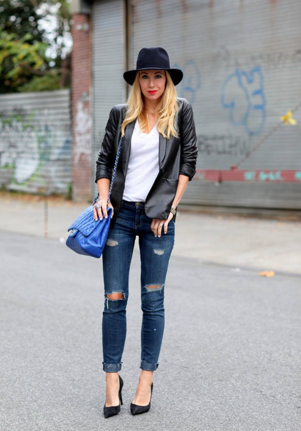 Stylish and Warm 20 Great Street Style Outfit Ideas (10)