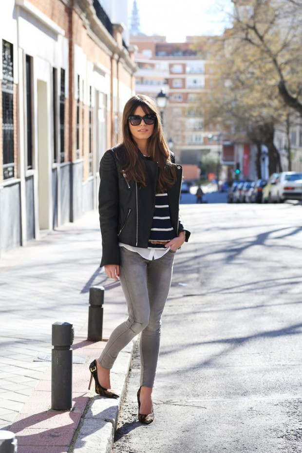 Stylish and Warm 20 Great Street Style Outfit Ideas (11)