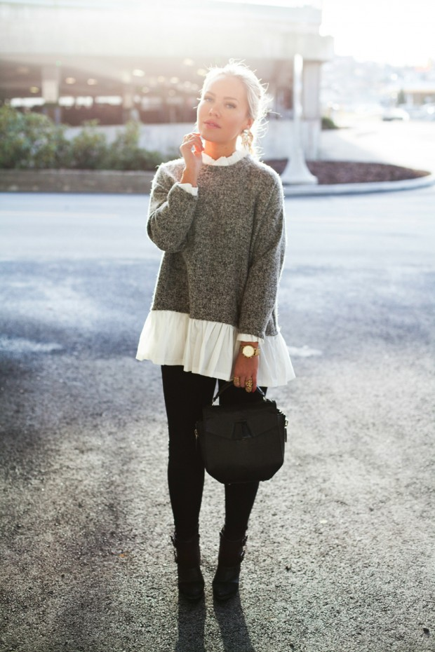 Stylish and Warm 20 Great Street Style Outfit Ideas (12)