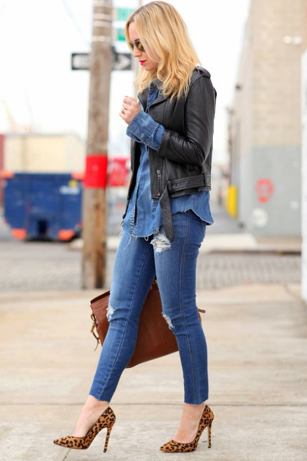 Stylish and Warm 20 Great Street Style Outfit Ideas (13)