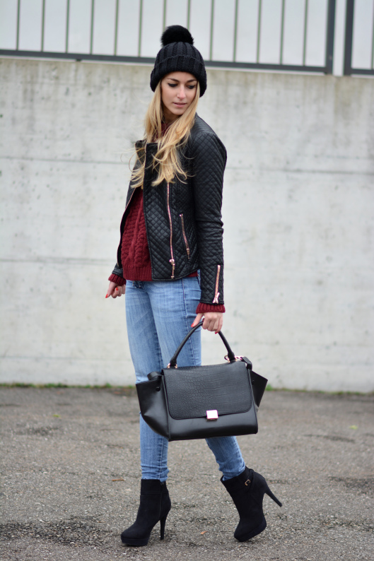 Stylish and Warm 20 Great Street Style Outfit Ideas (14)