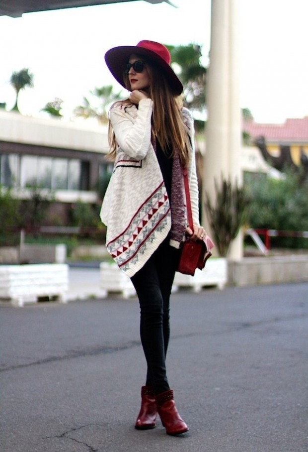 Stylish and Warm 20 Great Street Style Outfit Ideas (15)